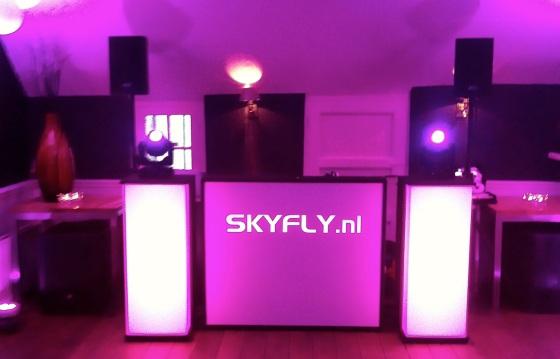De kleine show van SkyFly.nl